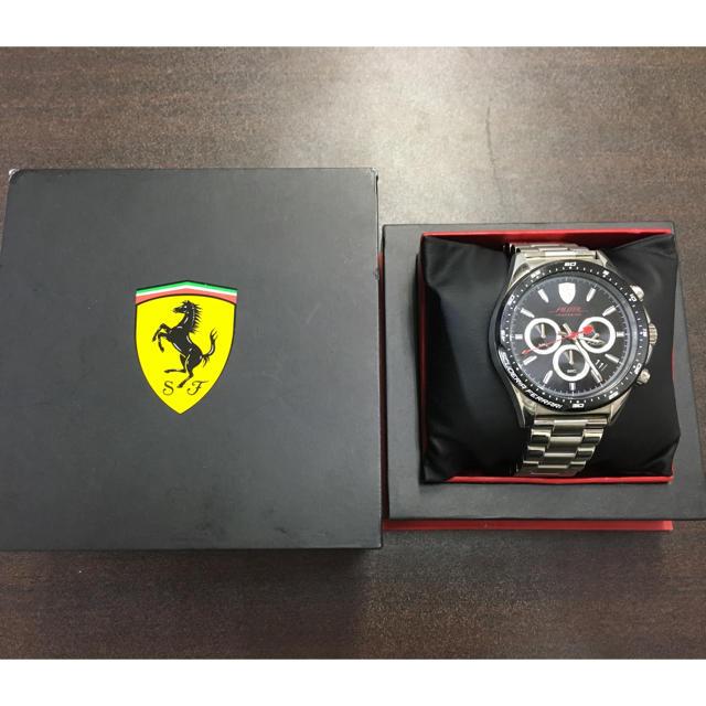 Ferrari - フェラーリ メンズ腕時計 可動品の通販 by YOSHIO's shop|フェラーリならラクマ