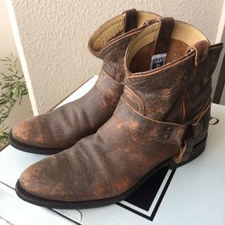 フライ(FRYE)の美品♪ FRYE フライ ウエスタンブーツ US10 26.5cm~27cm相当(ブーツ)