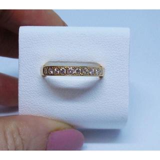 K18(18金)エタニティ ダイヤモンドリング(リング(指輪))