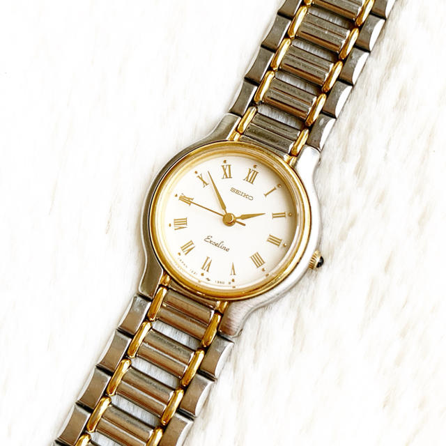 SEIKO - 電池交換込み☆ セイコー エクセリーヌ レディース腕時計の通販 by Pinor's shop|セイコーならラクマ