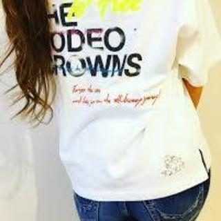 ロデオクラウンズワイドボウル(RODEO CROWNS WIDE BOWL)のロデオクラウンズワイドボウル メンズ バースデーTシャツ ホワイト(Tシャツ/カットソー(半袖/袖なし))