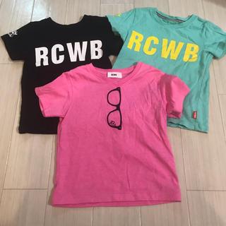 ロデオクラウンズワイドボウル(RODEO CROWNS WIDE BOWL)のロデオ キッズS.M RCWB ロデオクラウンズ(Tシャツ/カットソー)
