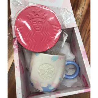 スターバックスコーヒー(Starbucks Coffee)のスターバックス✨ SAKURA2019マググレース&コースター(グラス/カップ)