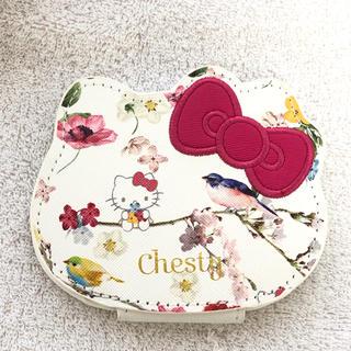 チェスティ(Chesty)のchesty 美人百花付録 キティちゃんコラボコンパクトミラー(ミラー)