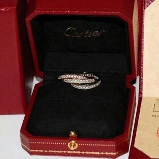 カルティエ(Cartier)のカルティエ トリニティ スリーカラー 3連リング(リング(指輪))