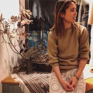 ファビアンルー(Fabiane Roux)の未着用 2019 AW コットンウールプルオーバー (カットソー(長袖/七分))