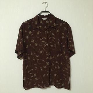 アンユーズド(UNUSED)のvintage beige rhodes open collar shirt(シャツ)