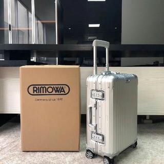 RIMOWA - リモワスーツケースTSAロックオリジナル 1~2泊 32L TOPAS シルバー