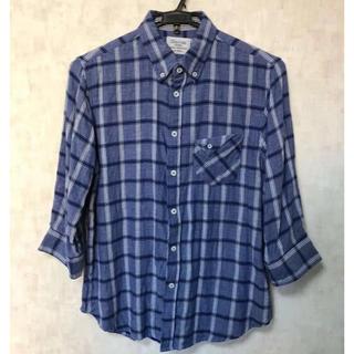ディスコート(Discoat)のDiscoat 七分袖 チェックシャツ(シャツ)