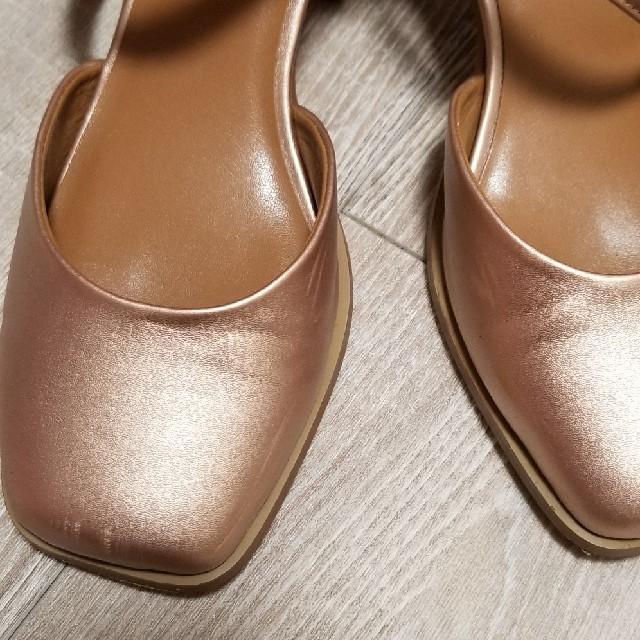 mystic(ミスティック)のmystic スクエアストラップサンダル 36 レディースの靴/シューズ(サンダル)の商品写真