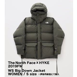 ハイク(HYKE)のHYKExThe North Face BigDownJacket Women(ダウンジャケット)