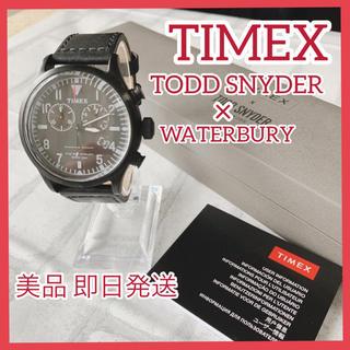 タイメックス(TIMEX)のTIMEX クロノ トッドスナイダー×ウォーターベリー TW2R12700(腕時計(アナログ))