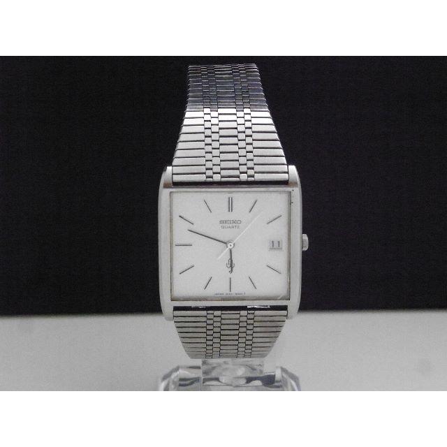 SEIKO - SEIKO Emblem ヴィンテージ 腕時計 デイト ホワイトダイアルの通販 by Arouse 's shop|セイコーならラクマ