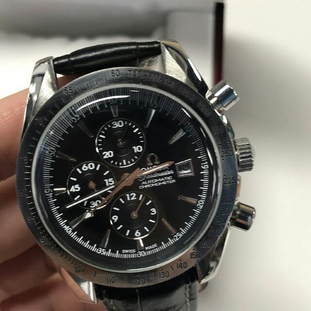 OMEGA - オメガ OMEGA スピードマスター デイト 3513.50 メンズ腕時計 の通販 by fasfjsd3421's shop オメガならラクマ