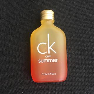 ck カルバンクライン 香水 ミニサイズ