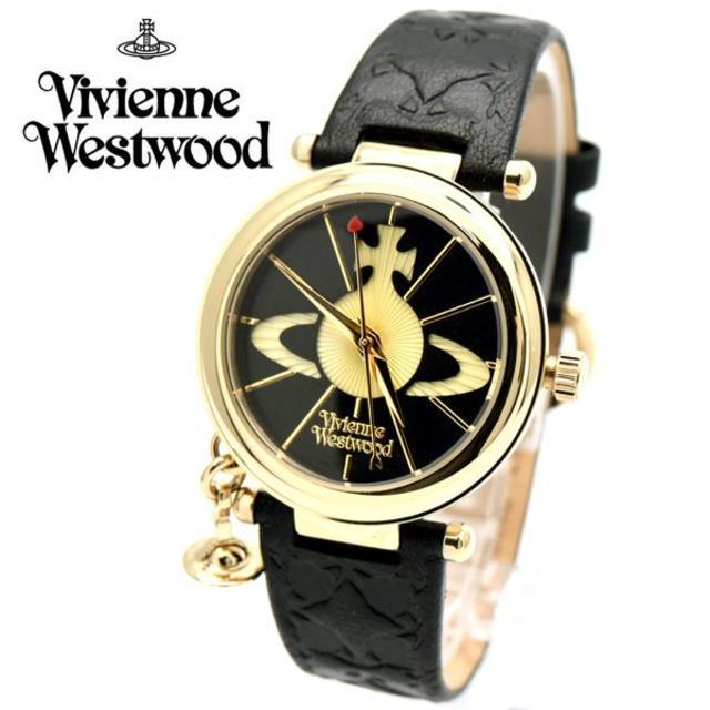 Vivienne Westwood - ヴィヴィアン 腕時計 レディース ビビアン 時計 ブラック ゴールドの通販 by おもち's shop|ヴィヴィアンウエストウッドならラクマ