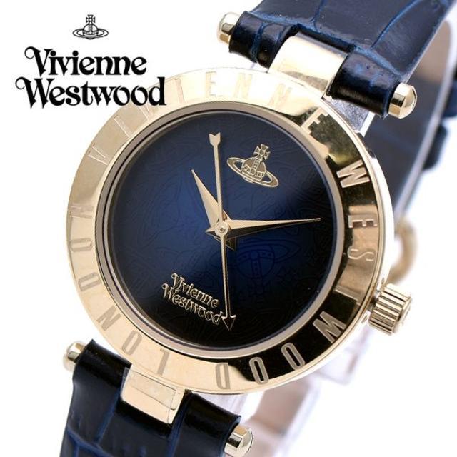 Vivienne Westwood - ヴィヴィアンウエストウッド 腕時計 レディース ネイビー ゴールドの通販 by おもち's shop|ヴィヴィアンウエストウッドならラクマ