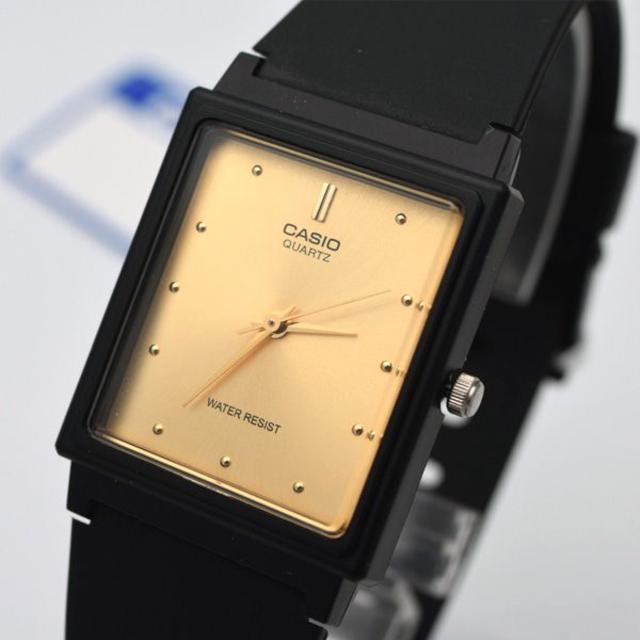 CASIO - カシオ CASIO チプカシ 腕時計 ゴールド メンズ チープカシオ ブランドの通販 by おもち's shop|カシオならラクマ