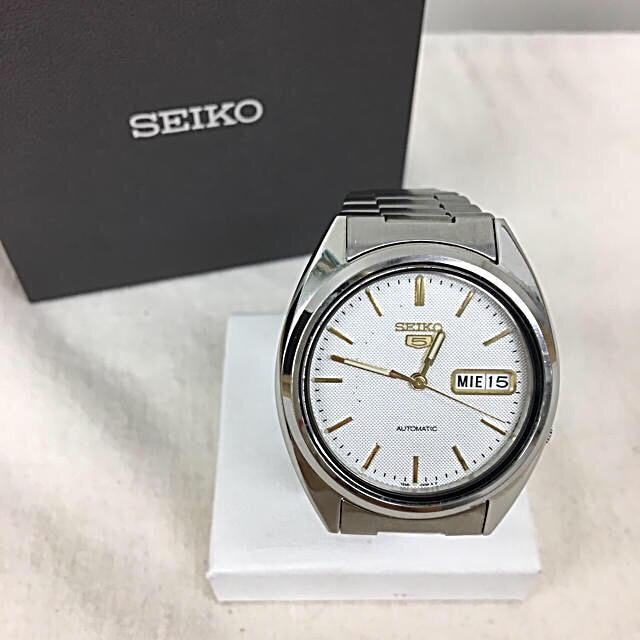 SEIKO - 正規品 SEIKO セイコー ファイブ 自動巻き 腕時計 送料込みの通販 by 和's shop|セイコーならラクマ