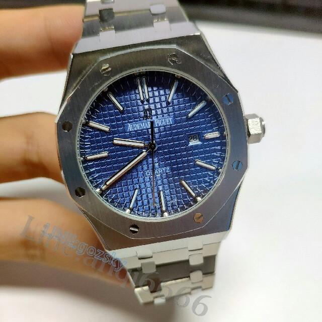 AUDEMARS PIGUET - オーデマピゲ AP メンズ 腕時計 クォーツ 箱付 SS の通販 by ナヘモ's shop|オーデマピゲならラクマ