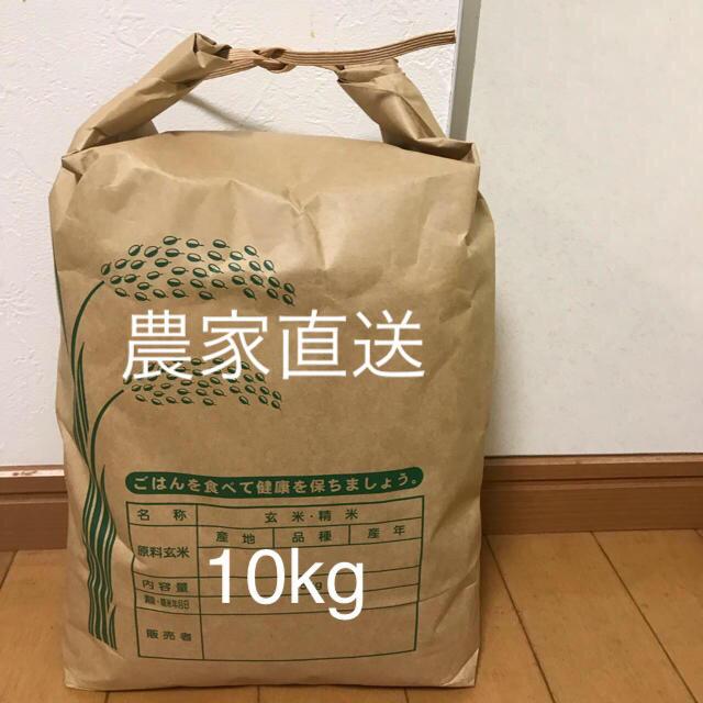 農家直送   減農薬栽培  単一原料米 三重県産コシヒカリ 10kg 新米  食品/飲料/酒の食品(米/穀物)の商品写真