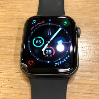 Apple watch Series4 44mm GPSモデル(腕時計(デジタル))
