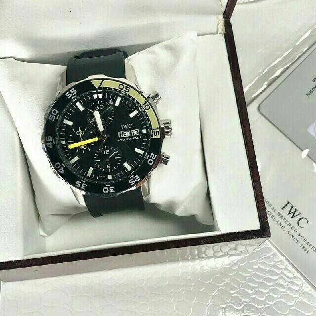 IWC - 美品 IWC アクアタイマー クロノ IW376708 メンズ 時計の通販 by ★HIROYUKI★'s shop|インターナショナルウォッチカンパニーならラクマ