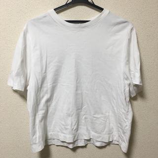 ユニクロ(UNIQLO)のUNIQLO クロップドクルーネックT (Tシャツ(半袖/袖なし))
