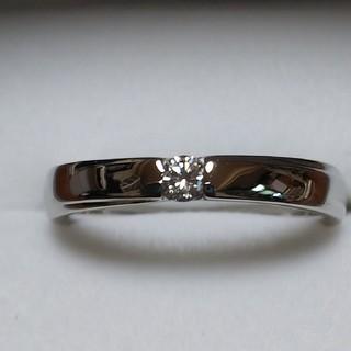 ニナリッチ(NINA RICCI)のPt900ダイヤモンドリング/エミ様専用(リング(指輪))