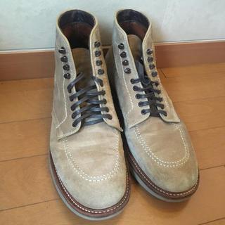 オールデン(Alden)のAlden suede boots 26cm(ブーツ)