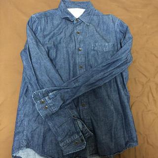 MUJI (無印良品) - 無印良品 デニムシャツ