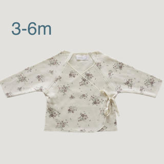 Bonpoint - 3-6m【Jamie kay】Wrap Top - Forever Floral