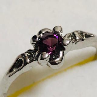 PT900 アメジスト調のリング(リング(指輪))