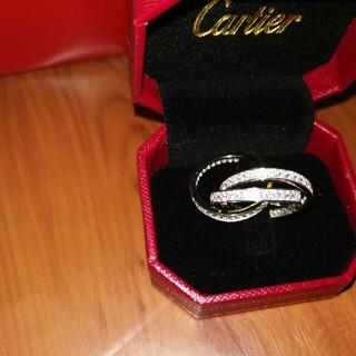 カルティエ(Cartier)のお勧め Cartier (リング)指輪 シルバー Au750 プレゼント (リング(指輪))