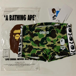 アベイシングエイプ(A BATHING APE)のape bape x arena short box swimwear M(水着)