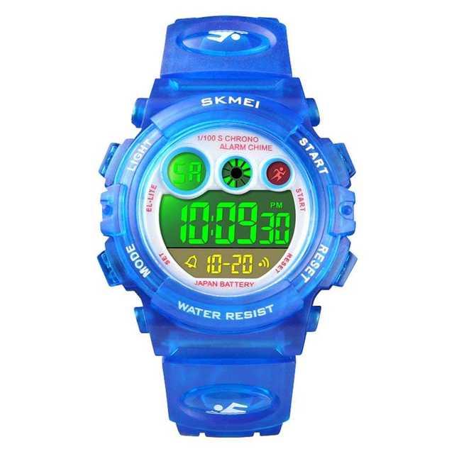 子供腕時計 多機能 アラーム付き デジタル表示 キッズ腕時計の通販 by スマ3's shop|ラクマ