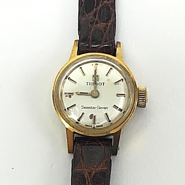 TISSOT - 鑑定済み 正規品 ティソ Tissot レディース 手巻き腕時計の通販 by 和's shop|ティソならラクマ