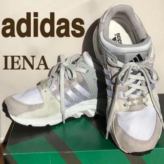 イエナ(IENA)のIENA 配色 スニーカー ベージュ グレー 白 アディダス adidas 秋冬(スニーカー)
