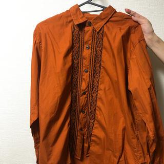 ハレ(HARE)のHARE オレンジシャツ(シャツ)
