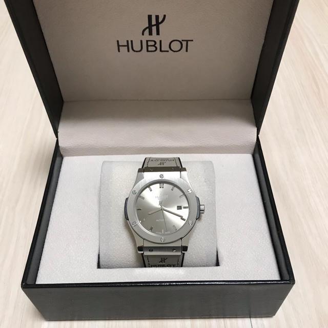 HUBLOT - 自動巻き 腕時計の通販 by Adoo025's shop|ウブロならラクマ