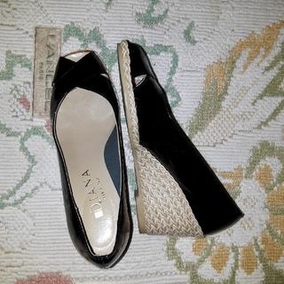 ダイアナ(DIANA)のダイアナ 靴 エナメル黒(ハイヒール/パンプス)