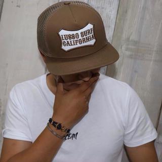 ロンハーマン(Ron Herman)の西海岸系☆LUSSO SURF ロゴ刺繍キャップ 帽子☆RVCA(キャップ)