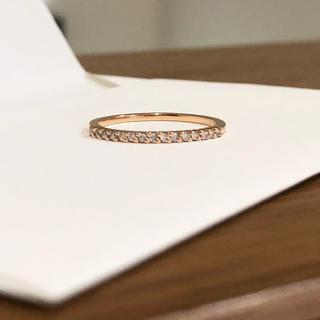 ヨンドシー(4℃)の4℃リングK18ピンクゴールド ダイヤモンド #6(リング(指輪))