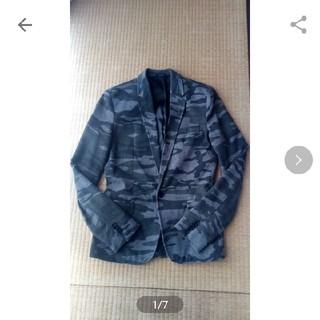 ザラ(ZARA)のZARA 迷彩ジャケット メンズ日本Sぐらい (表記はメンズ38) (ミリタリージャケット)