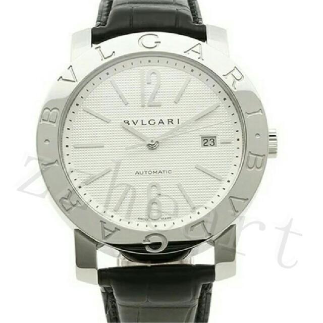 BVLGARI - BVLGARI革ベルト BB42WSLDAUTO ブルガリブルガリ メンズ腕時計の通販 by fhkkuiusd's shop|ブルガリならラクマ