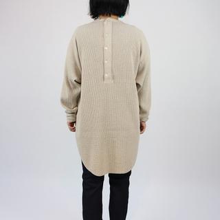 アメリカーナ(AMERICANA)のamericanaサーマルカットソータグ付き(Tシャツ(長袖/七分))