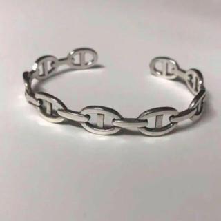 silver925 Coffee chain bangle(バングル/リストバンド)