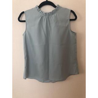 ジーユー(GU)のタンクトップ  ブラウス トップス(シャツ/ブラウス(半袖/袖なし))