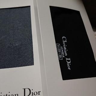 クリスチャンディオール(Christian Dior)の紳士 ディオール靴下 二足(ソックス)