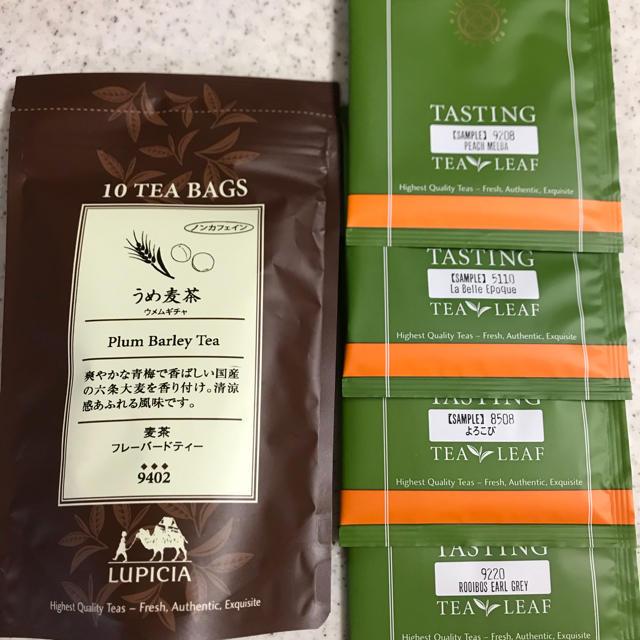 LUPICIA(ルピシア)のルピシア 麦茶&リーフティーセット 食品/飲料/酒の飲料(茶)の商品写真